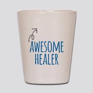 Awesome healer Shot Glass