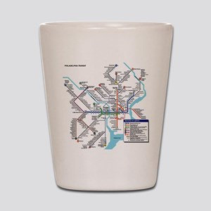 Pennsylvania Public Transportation Tran Shot Glass