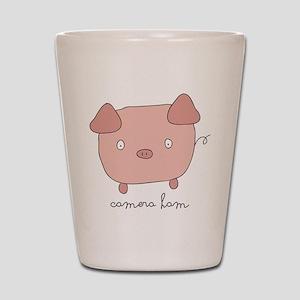 Pig Puns Shot Glasses - CafePress