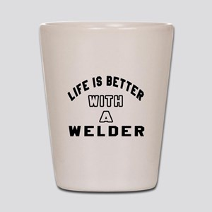 Welder Designs Shot Glass