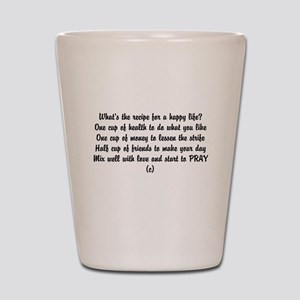 Short Funny Poems Shot Glasses - CafePress