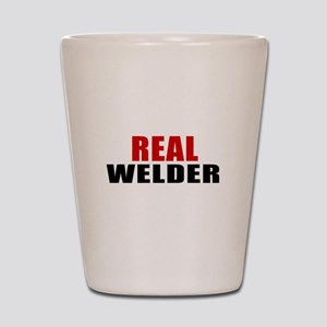Real Welder Shot Glass