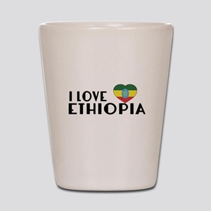 I Love Ethiopia Shot Glass
