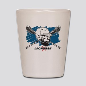 Lacrosse Attitude Shot Glass
