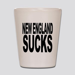New England Sucks Shot Glass