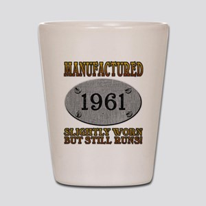 Manufactured 1961 Shot Glass