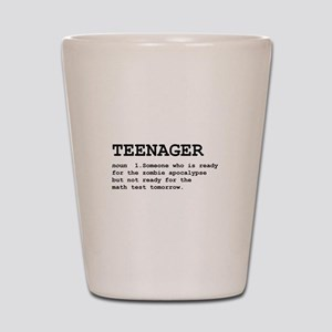 Teenager Shot Glass