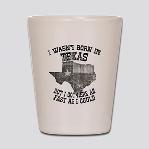 Texas Shot Glass