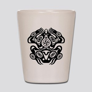 Frog Native American Design Shot Glass