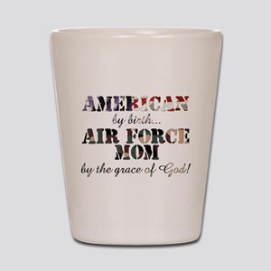 AF Mom by grace of God Shot Glass