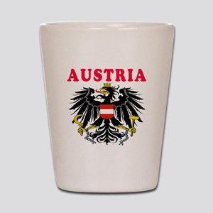 Austria Coat Of Arms Designs Shot Glass