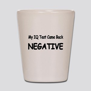 Iq Test Shot Glasses - CafePress