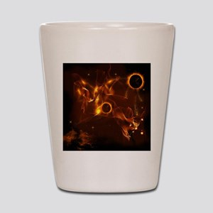 The inferno Shot Glass