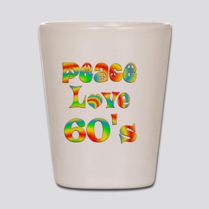 6-60s Shot Glass