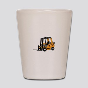 FORKLIFT Shot Glass