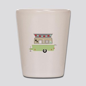 Camper Trailer Shot Glass