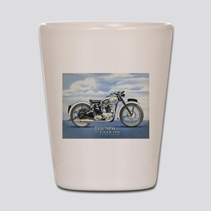 1948 Triumph Tiger 100 Shot Glass