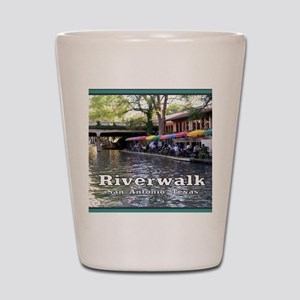 Riverwalk, San Antonio,TEXAS Shot Glass