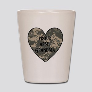 Proud Army Grandma   Shot Glass