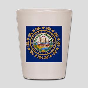 Manchester New Hampshire Shot Glasses - CafePress