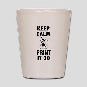 3d Printer Shot Glass