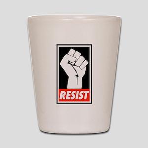 Resist Shot Glass