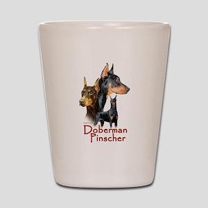 Doberman Pincher-1 Shot Glass
