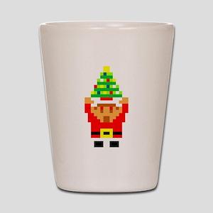 Legend of Santa Link Shot Glass