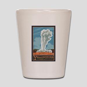 Yellowstone Nat'l Park, WY - Old Faithful Geyser S