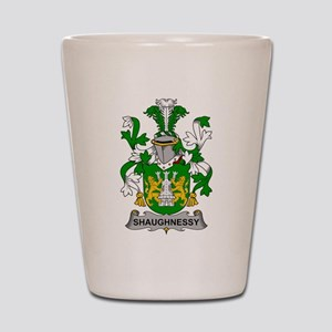 Shaughnessy Family Crest Shot Glass