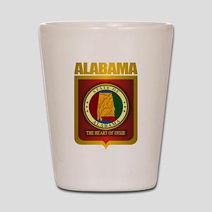 """""""Alabama Gold"""" Shot Glass"""