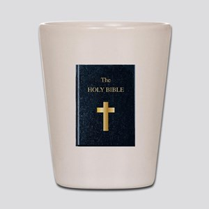 The Holy Bible Shot Glass