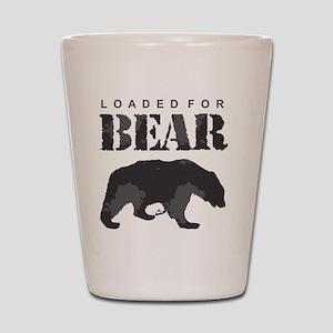 Loaded for Bear Shot Glass