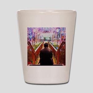 Frank in Wonderland Shot Glass