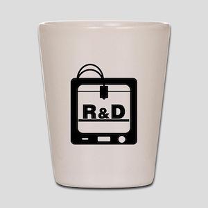R&D 3D Printer Shot Glass