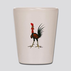 Crazy Rooster Shot Glass