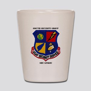 6987TH SECURITY GROUP Shot Glass