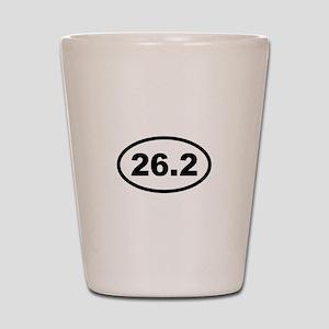 26.2 Miles - Marathon Shot Glass