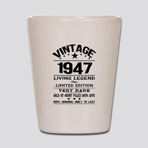 VINTAGE 1947-LIVING LEGEND Shot Glass