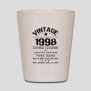 VINTAGE 1998-LIVING LEGEND Shot Glass
