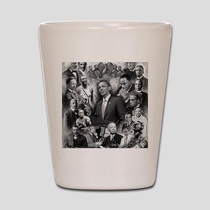 Great Black Leaders Shot Glass