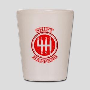 Shift Happens - Car Lover Shot Glass