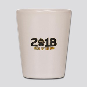 2018 Chinese New Year Shot Glass