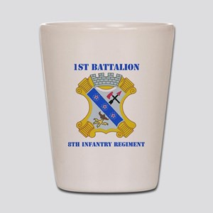 1-8 in Rgt With Text Shot Glass