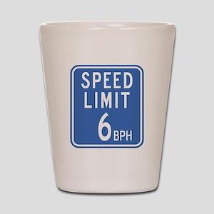 Speed Limit Shot Glass