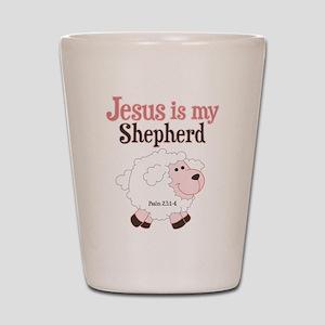 Jesus Is Shepherd Shot Glass