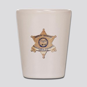 Maricopa County Sheriff Shot Glass