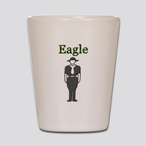 Eagle Scout Shot Glass