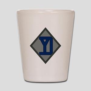 26th Infantry Yankee Div Shot Glass
