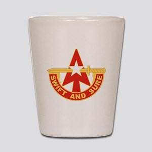 32nd Army Air Defense Artillery Command Shot Glass